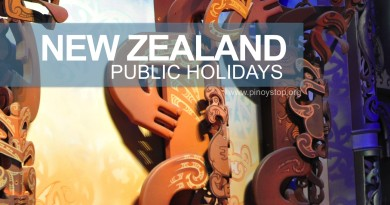 NZ Public Holidays by Pinoy Stop
