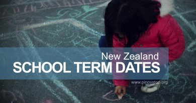 NZ School Term Dates - Pinoy Stop
