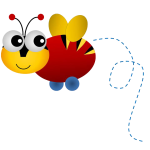 Buzzy Bee PNG