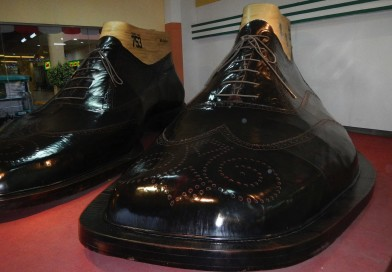 WORLD'S LARGEST PAIR OF SHOES
