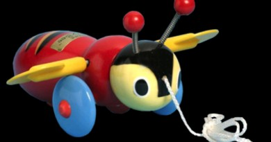 Pinoy Stop Buzzy Bee toy