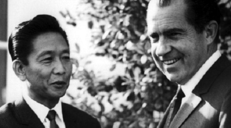 President Nixon in Manila 1969