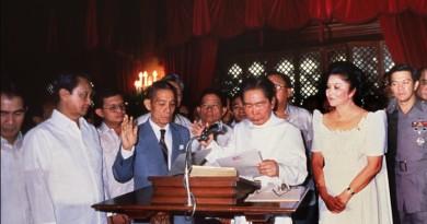 Ferdinand Marcos 1986