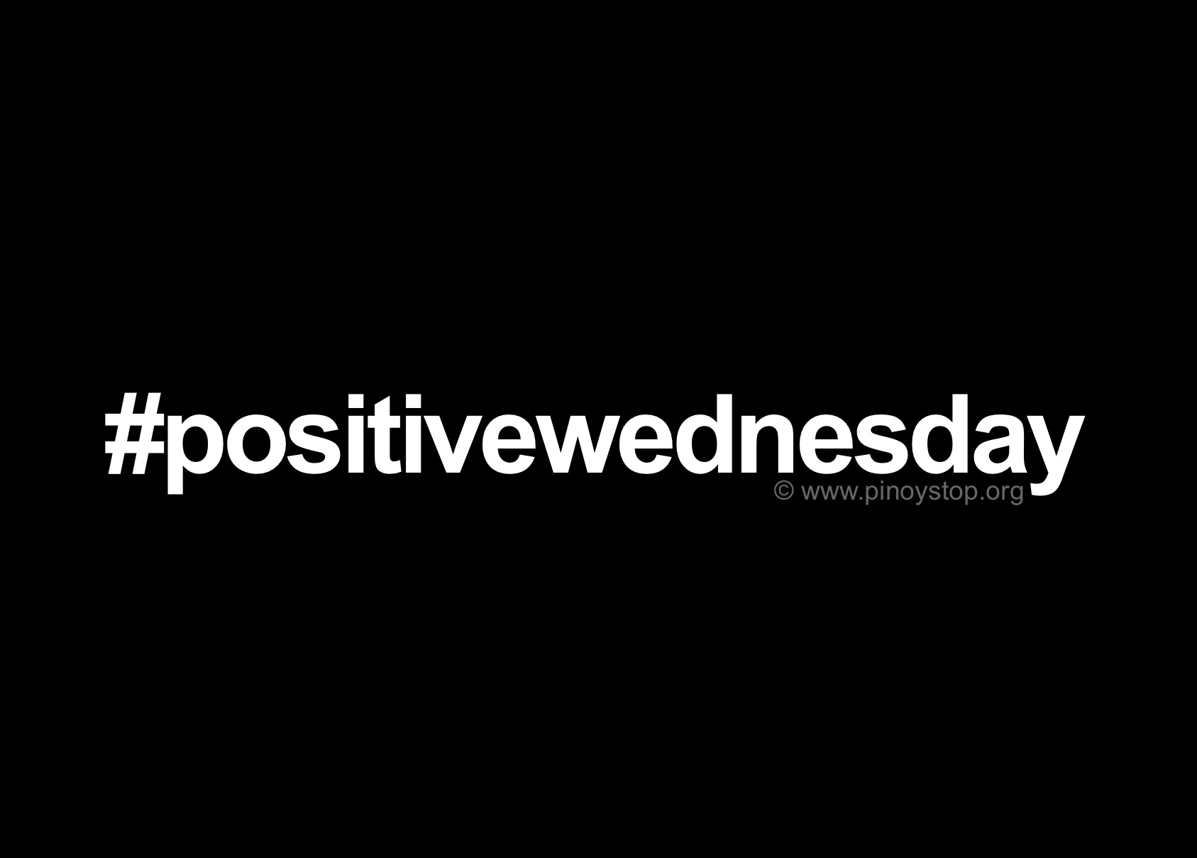 Quotes Positive Positive Wednesday Quotes  Pinoy Stop