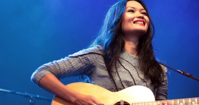 Bic Runga on the 2010 Winery Tour, in New Zealand. Photo by Nick Chappell