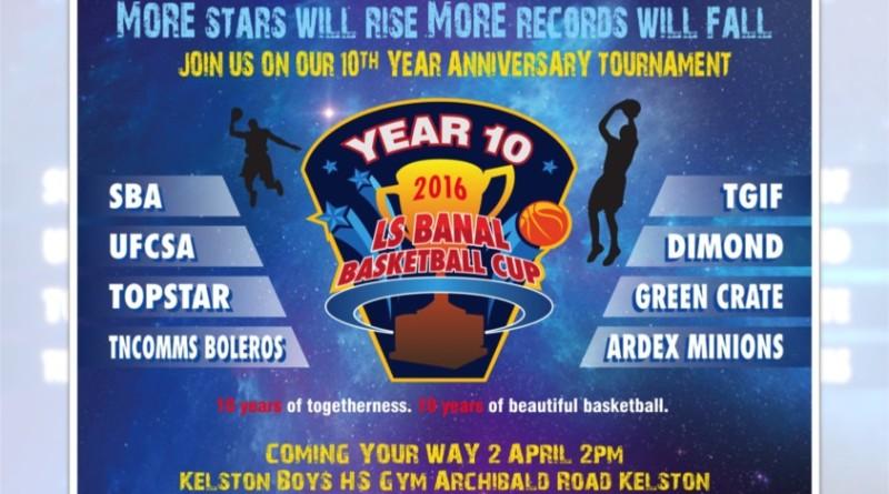 WAFSA 2016 LS Banal Basketball Cup