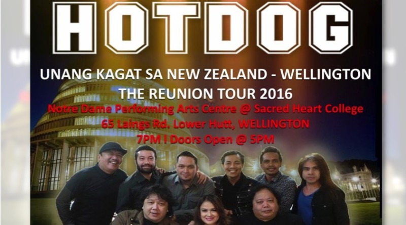 Hotdog concert in Wellington