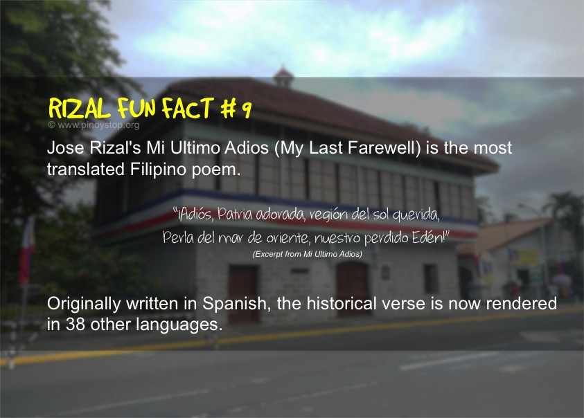 facts about jose rizal Did you know that dr jose rizal, whose 142nd birthday the country marks today, played a key role in the identification of the philippine snail that harbors the parasite that causes.
