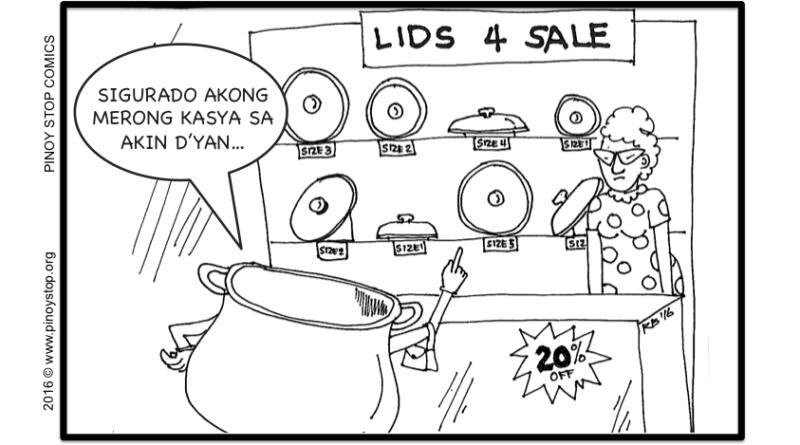 PinoyStop Salawikain 014 - Walang palayok na walang kasukat na tungtong
