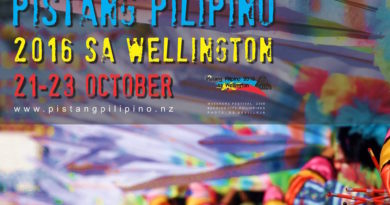"Pistang Pilipino 2016 sa Wellington ""Philippine Festival in Wgtn 2016"""