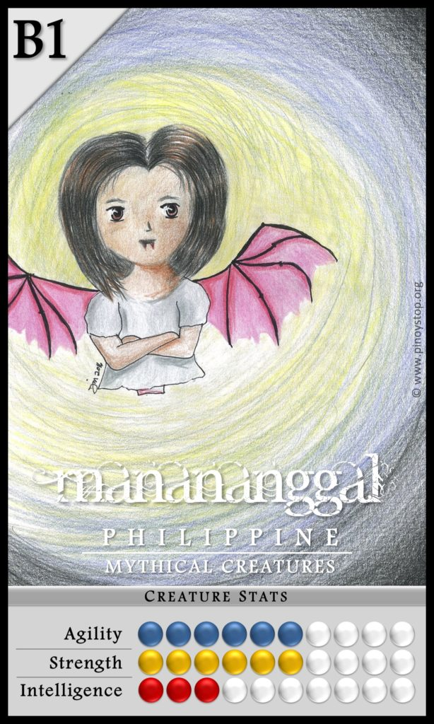Philippine Mythical Creatures - Manananggal