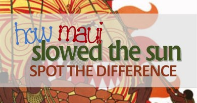 ACTIVITY SHEET: How Maui Slowed The Sun – Spot the Difference