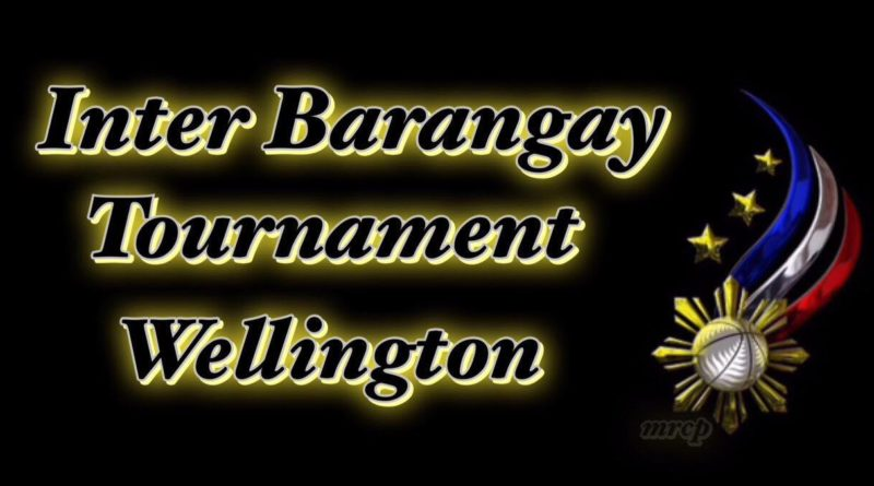 Inter-barangay Tournament in Wellington 2017