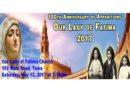 100th Anniversary of Apparitions of Our Lady of Fatima (Wellington)