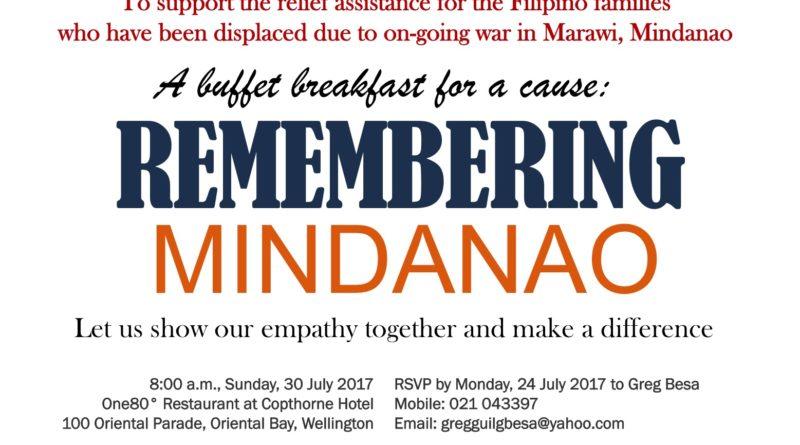 Remembering Mindanao